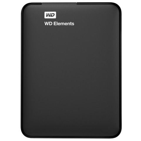 "Внешний жесткий диск 2.5"" WD Elements Portable 500GB (WDBUZG5000ABK-WESN)"