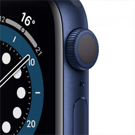 Часы Apple Watch S6 GPS 40mm Blue Aluminum Case with Deep Navy Sport Band (MG143RU/A)