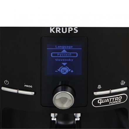 Кофемашина Krups Quattro Force EA82F010