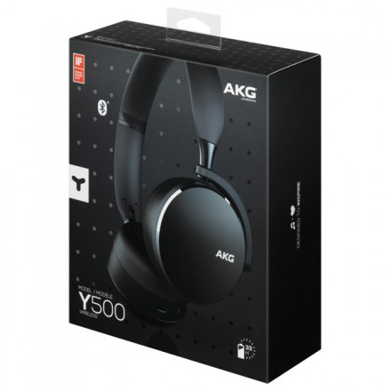 Наушники Bluetooth AKG Y500 Black