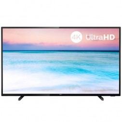 "Телевизор Philips 50PUS6504 49.5"" (2019), черный"