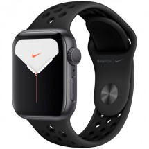 Смарт-часы Apple Watch S5 Nike+ 40mm SpGrey Sport Band (MX3T2RU/A)